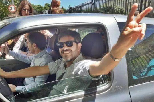 Carlos Bianco, dueño y chofer del Renault Clío de la campaña de Axel Kicillof en las elecciones 2019.