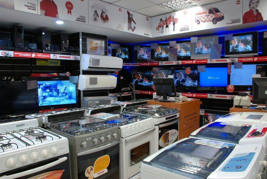 La línea de créditos para electrodomésticos incluye 230 modelos de 8 rubros.