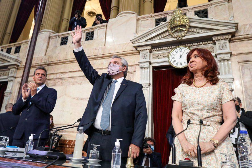 Discurso completo del presidente ALberto Fernández ante el Congreso de la Nación