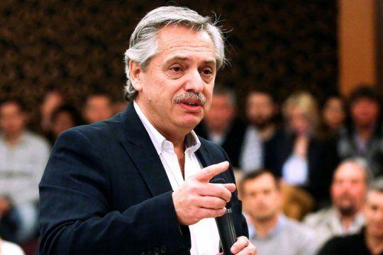 alberto fernandez opino sobre el acuerdo del fmi, su relacion con cfk y su hijo