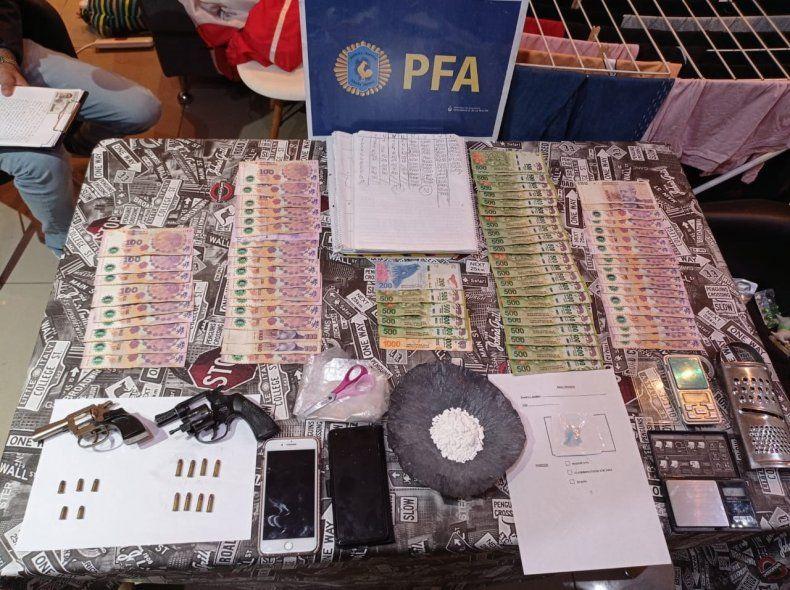 Los elementos secuestrados en el allanamiento en Mar del Plata