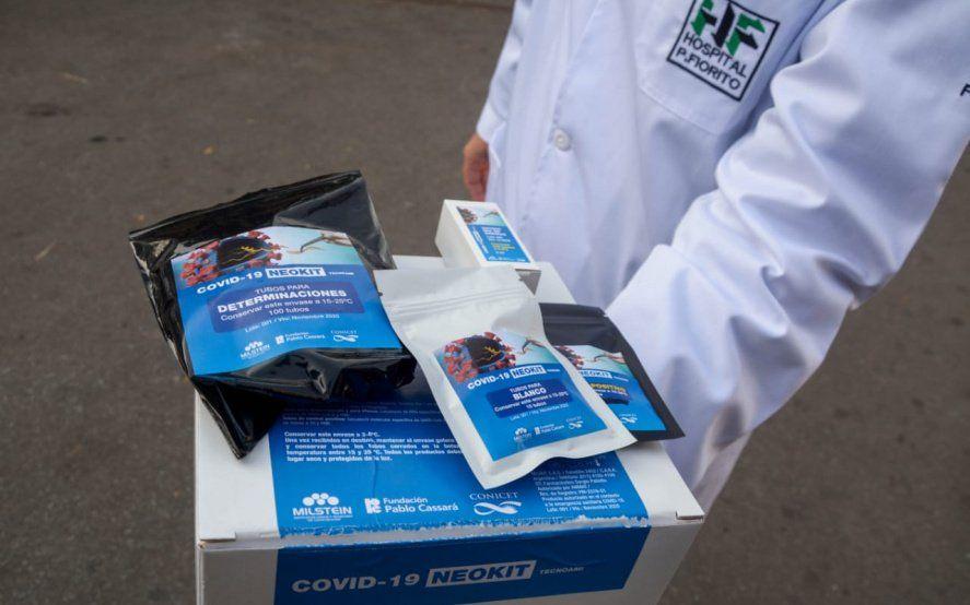 En la Provincia ya se usan los test de COVID-19 desarrollados en Argentina por el CONICET