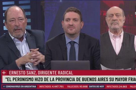 El ex senador radical mendocino Ernesto Sanz aseguró que la Provincia de Buenos Aires es el lugar en donde conviven la droga y la marginalidad