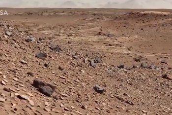 Así luce Marte en la lente de los modernos vehículos de exploración espacial lanzados por la NASA.