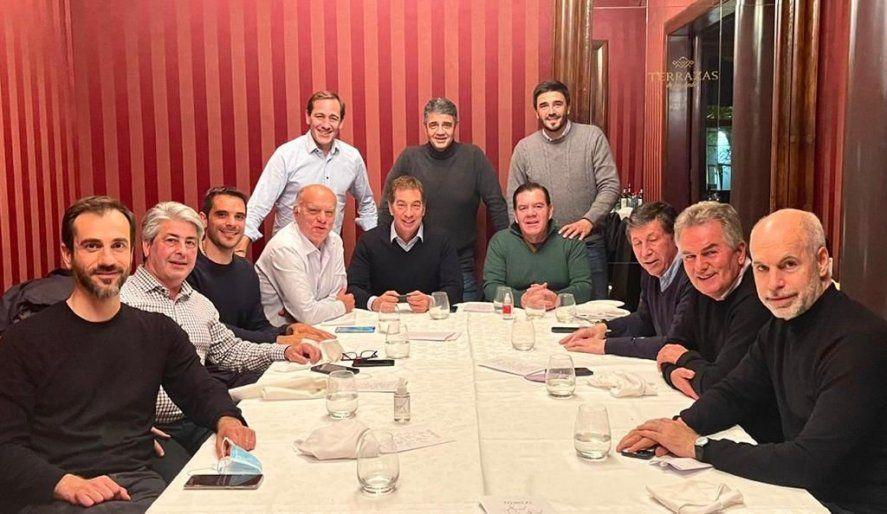 Los intendentes PRO de Juntos se reunieron con Horacio Rodríguez Larreta para analizar el resultado de las elecciones.