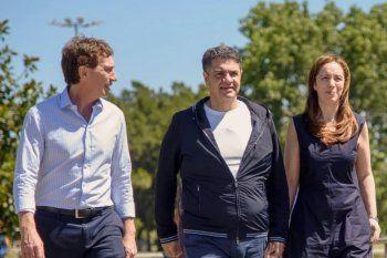Diego Santilli será el candidato del PRO en la provincia de Buenos Aires. María Eugenia Vidal faltó a su lanzamiento.