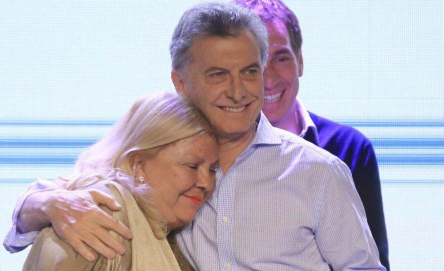 Macri y Carrió formaron parte de la alianza Cambiemos que gobernó el país y la provincia entre 2015 y 2019