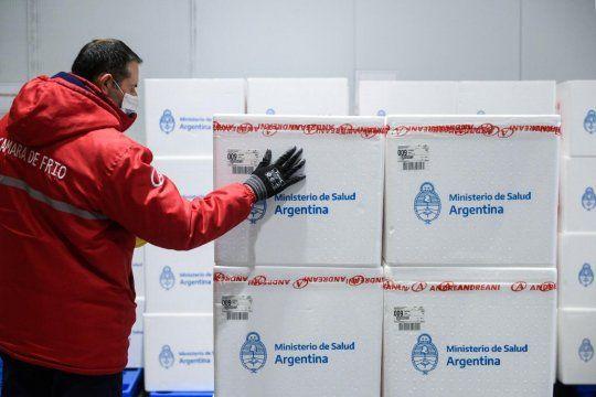 Argentina continúa recibiendo vacunas contra el coronavirus