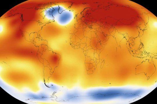 alerta, calentamiento global: los ultimos cinco anos han sido los mas calidos de los ultimos 140