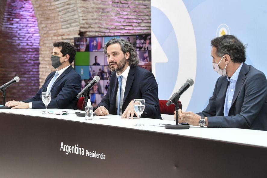 Santiago Cafiero y otro palo para la oposición