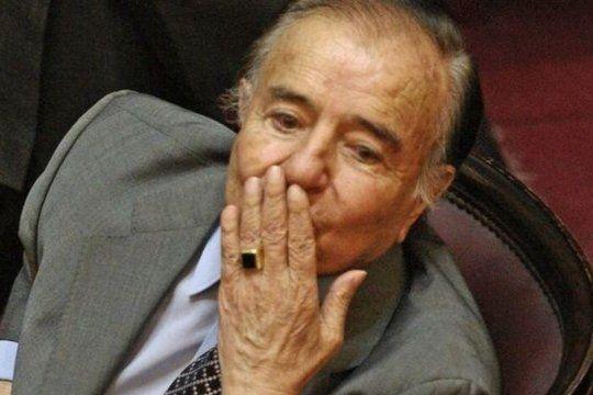 Robaron el histórico anillo de Carlos Menem
