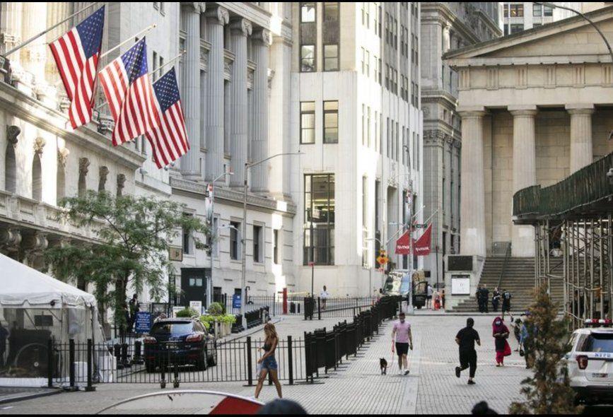 Las frias calles de Wall Street