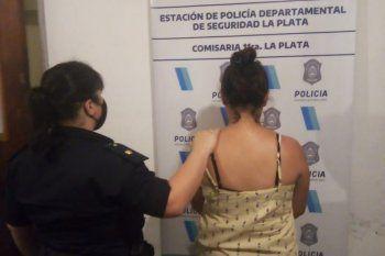 La mujer fue detenida en 16 y 526 de Tolosa
