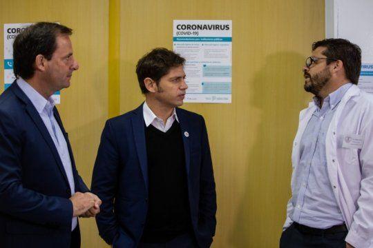 coronavirus: kicillof confirmo que la provincia duplico la cantidad de camas criticas disponibles