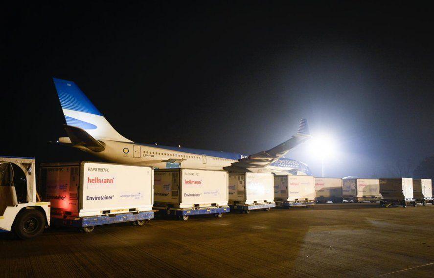 Aerolíneas Argentinas confirmó el despegue de otro vuelo a China enbúsqueda de más dosis de la vacuna de Sinopharm