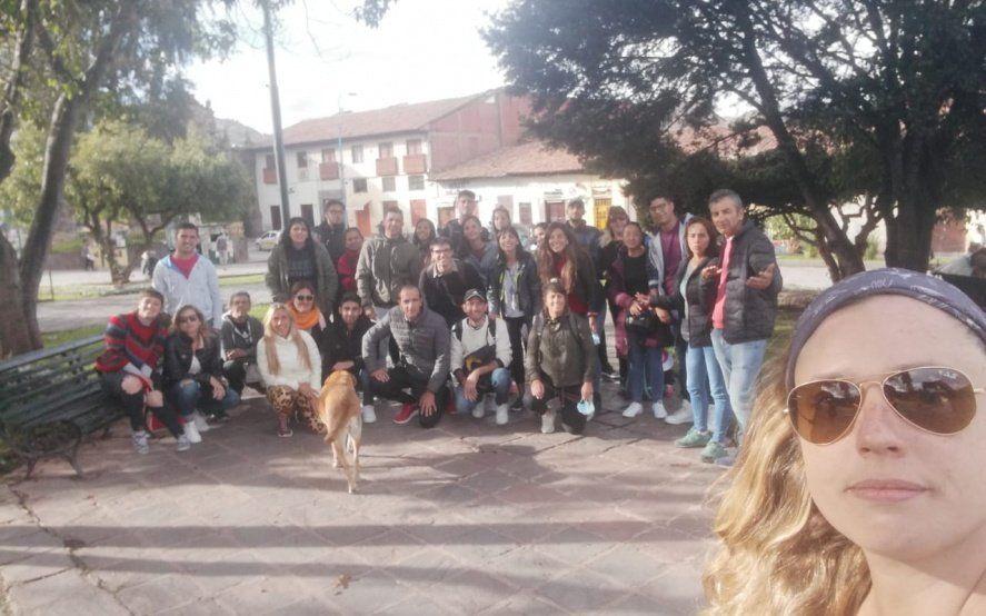 """Ya son más de 300 los argentinos varados en Cuzco: """"Tratamos de darnos tranquilidad entre nosotros"""""""