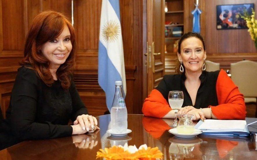Cristina denunció a Michetti por un desfalco de 180 millones de pesos contra el Senado de la Nación