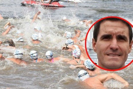 la palabra del companero del nadador desaparecido: rio-mar no fue el cromagnon del agua de milagro