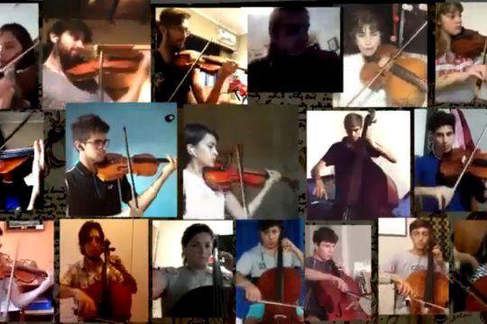 entregan instrumentos renovados a la orquesta escuela de berisso para que los ninos sigan aprendiendo durante la pandemia