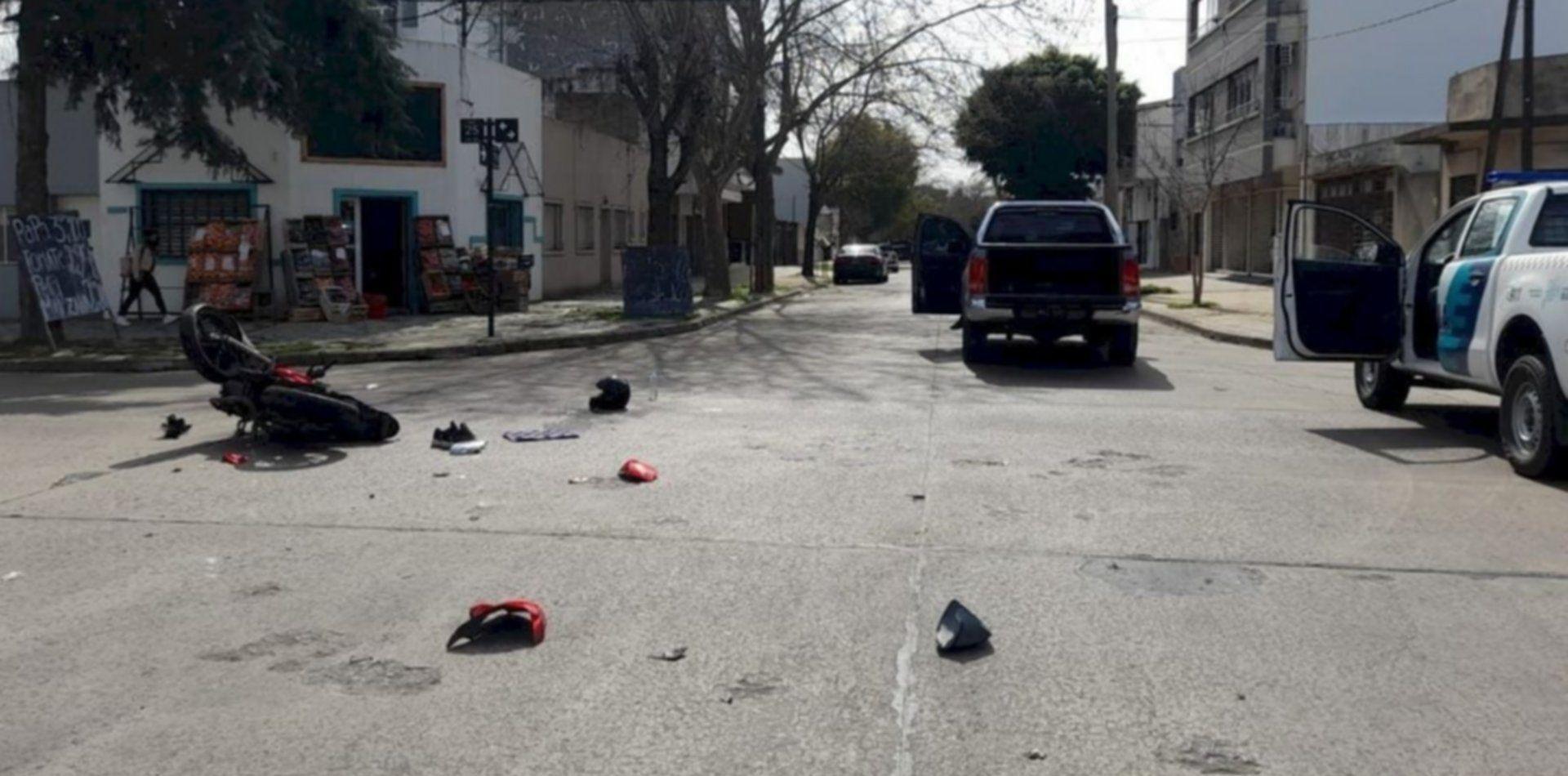 El motociclista tenía 28 años y sufrió un grave accidente en La Plata
