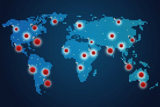coronavirus y conspiracion: para los terraplanistas, la pandemia es una operacion geopolitica