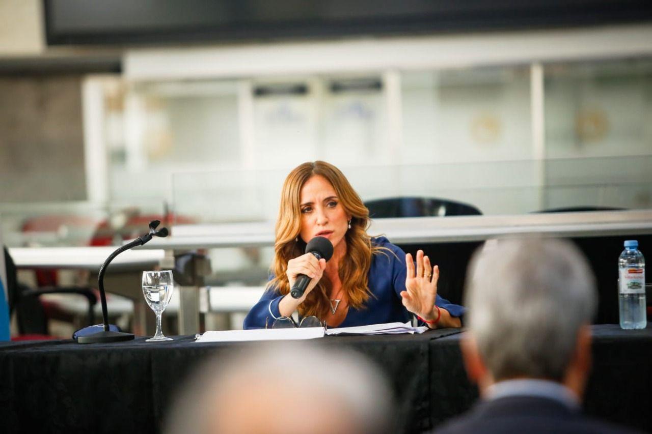 victoria tolosa paz quiere convertir en ley el programa de empleo joven te sumo