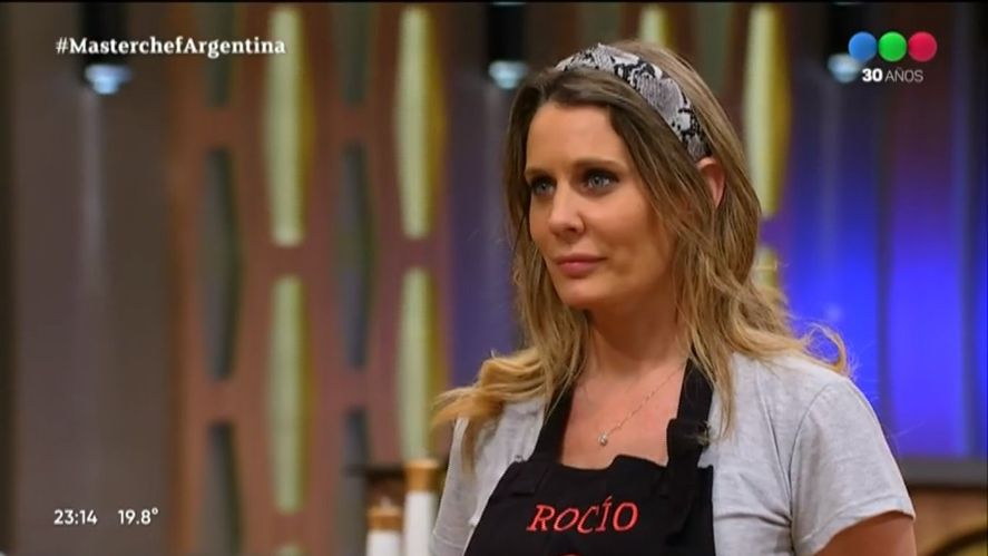 Rocío Marengo criticó a la producción de MasterChef