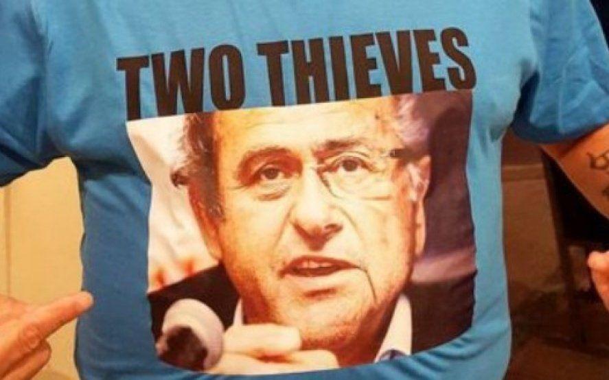 El día que Maradona predijo la detención de Michel Platini