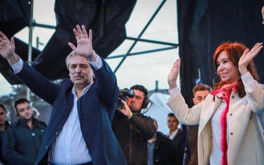 Alberto Fernández y Cristina Kirchner cierran la campaña en Rosario acompañados por gobernadores del PJ