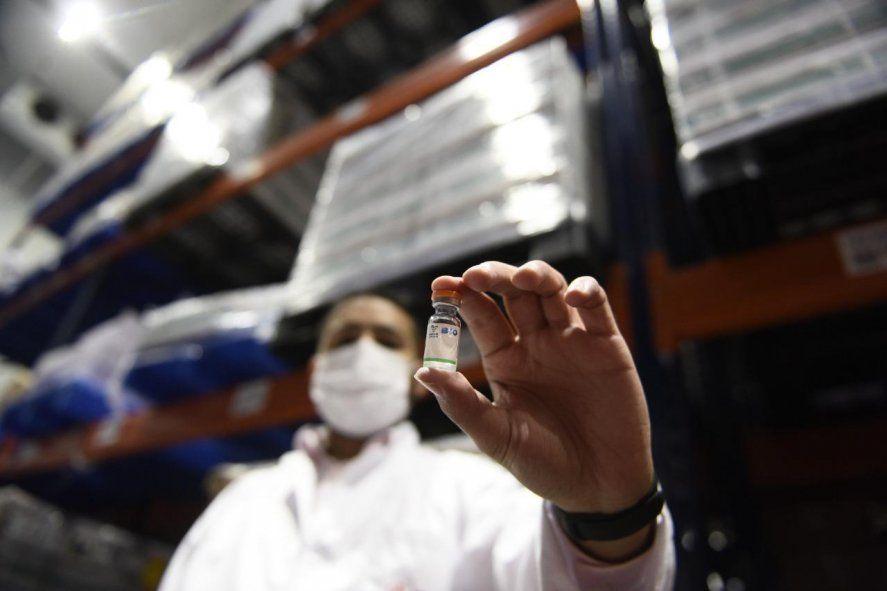 La vacuna Sinopharm encaminada para producirse en Garín