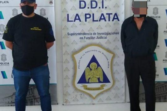 El penitenciario retirado fue detenido en el barrio San Carlos de La Plata