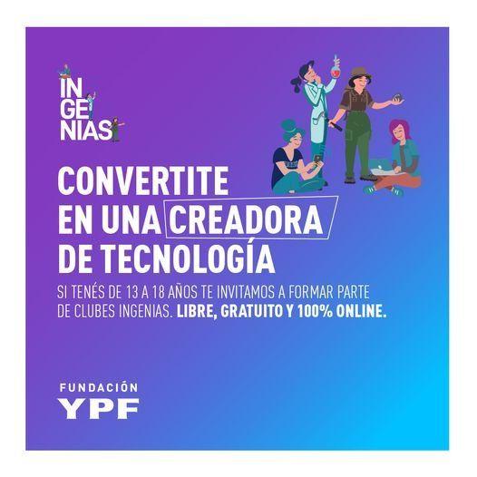 La Fundación YPF dispuso la convocatoria desde el 30 de abril al 13 de mayo.