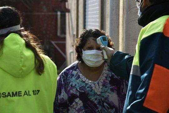coronavirus: refuerzan controles para evitar otro estallido de contagios como el del barrio cabezas