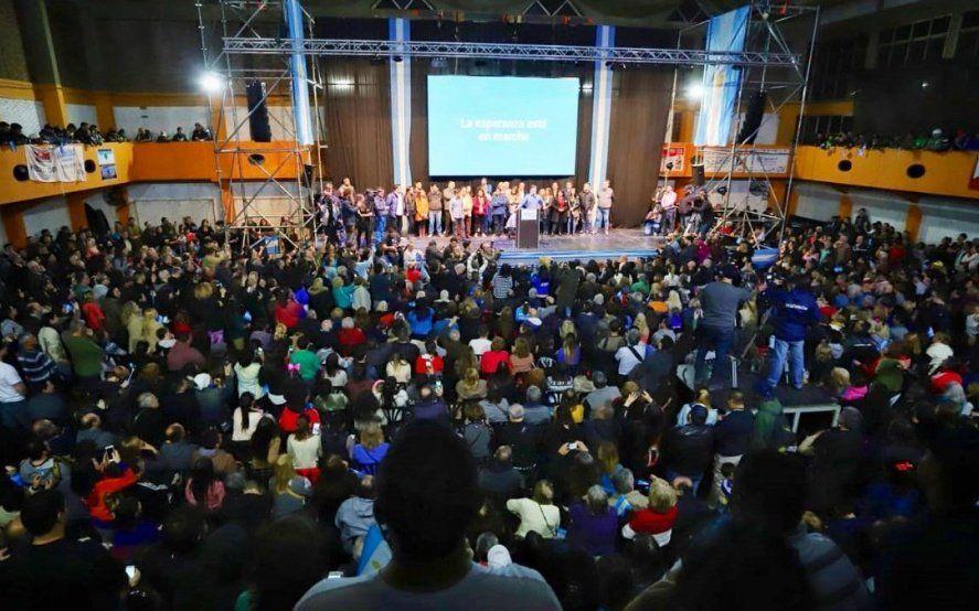 Se lanzó el Frente de Todos en Morón y el peronismo se entusiasma con derrotar a Tagliaferro