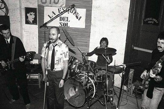 Indio Solari, junto a Los Redondos