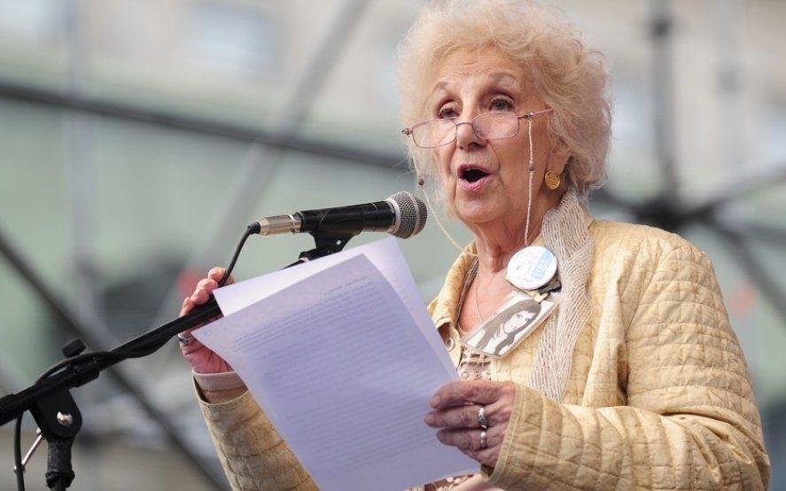 Memoria, Verdad y Justicia: Estela de Carlotto participará de un acto por los desaparecidos en la UNLP