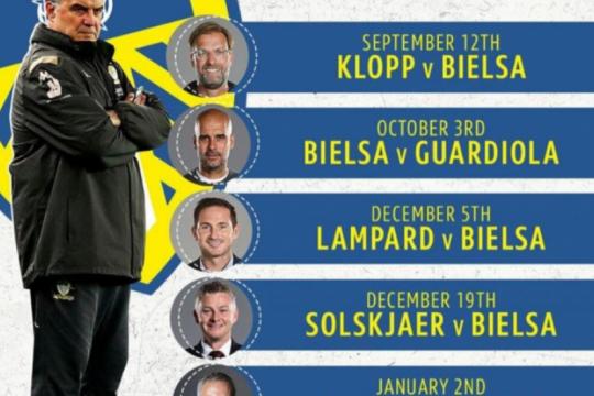 La Premier League cruzará a Bilesa con Klopp, Guardiola y Mourinho