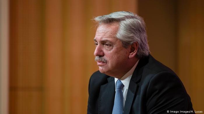 Alberto Fernández recibió también el apoyo de empresarios