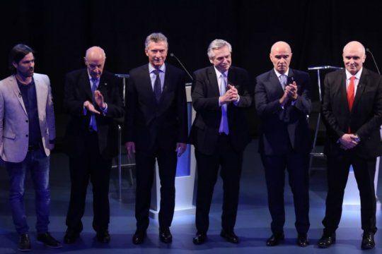 debate presidencial: los candidatos abordaron la politica agropecuaria a cuentagotas
