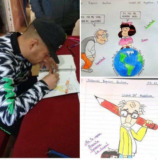 Emotivo homenaje a Quino por parte de presos de una cárcel bonaerense
