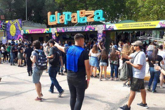 el lado b del lollapalooza: en 131 procedimientos policiales hubo 146 detenidos