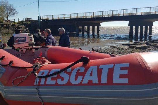 por sexto dia consecutivo, continua la busqueda de los dos pescadores desaparecidos en punta lara