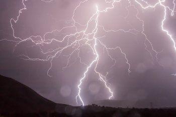 Hay alerta meteorológico nivel amarillo por tormentas fuertes en el sur bonaerense.