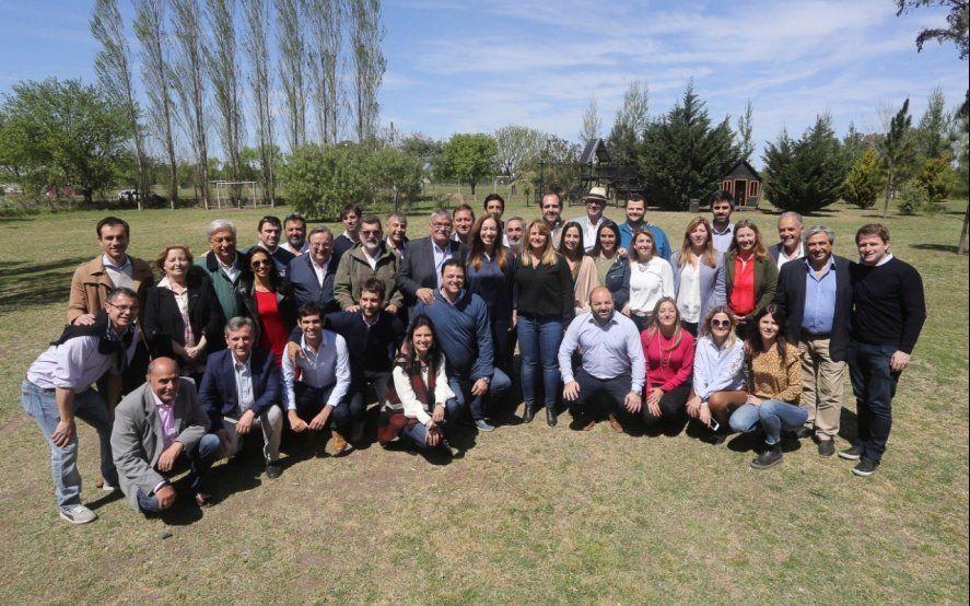 Vidal congregó en un almuerzo a referentes de la Cuarta y bajó línea de cara a las elecciones