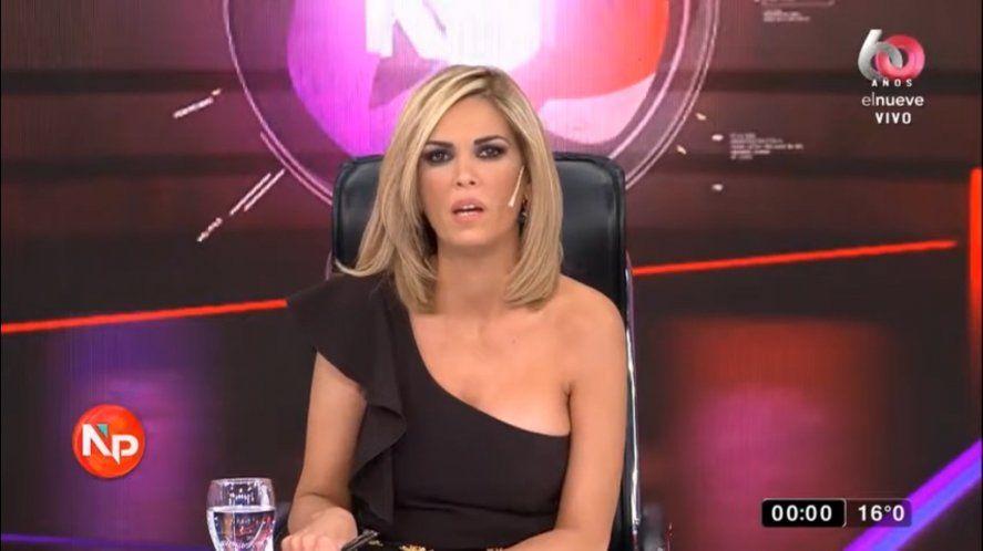 Viviana Canosa llamó cagón a Sietecase al cerrar su programa