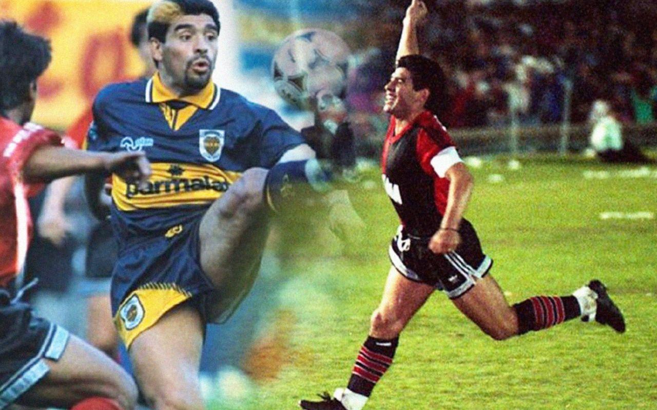 Imborrable: Maradona y sus huellas en 7 de octubre.