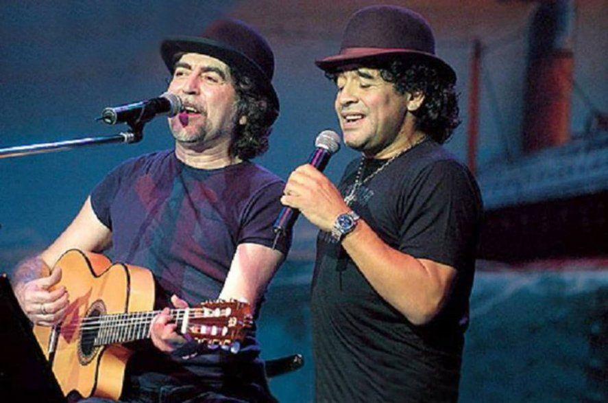 Maradona y Sabina