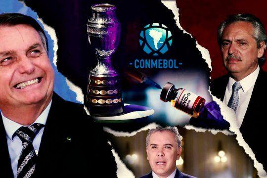 La Copa América requebrajada por los intereses y las apuestas políticas. Lo deportivo quedó en un plano lejano.