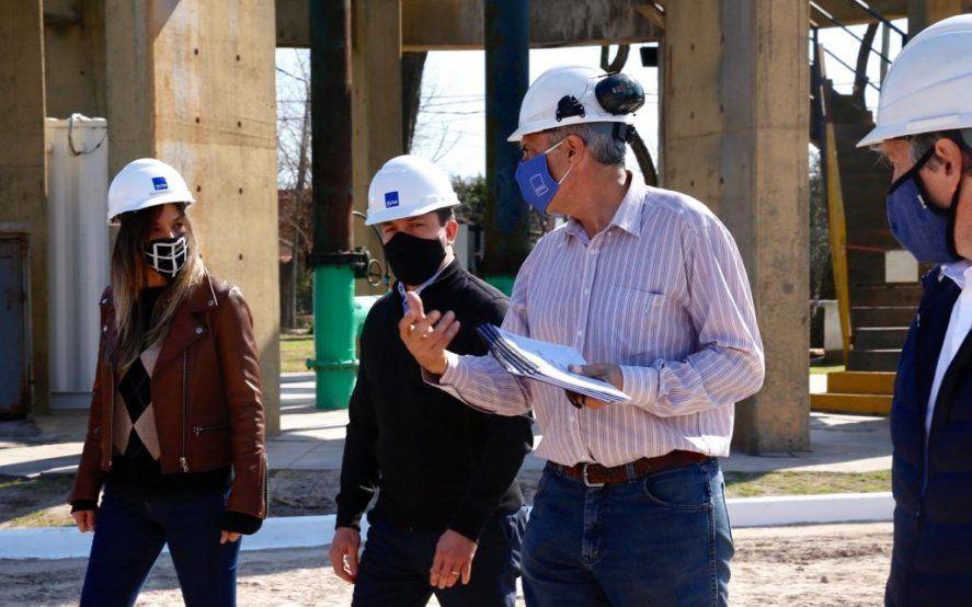 AySA reactiva obras paralizadas en Florencio Varela