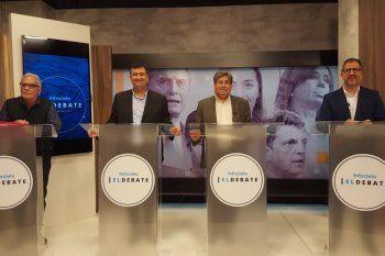 Los candidatos de la octava sección, La Plata, participaron del primer episodio de Infocielo El Debate.